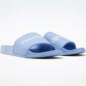 REEBOK CLASSIC SLIDES 男鞋 女鞋 拖鞋 休閒 柔軟 舒適 水藍【運動世界】EH0351