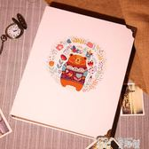 相冊 電影票火車票收藏冊飛機門票紀念冊收集3寸5寸插頁式相冊相本相簿 童趣屋