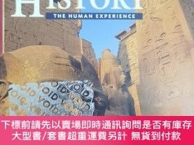 二手書博民逛書店英文原版: WORLD HISTORY THE罕見HUMAN EXPERIENCEY367822 Mou