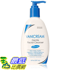 [美國直購] Vanicream Gentle Facial Cleanser 清潔乳 8 OZ Pump
