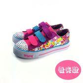 大童款 SKECHERS 10843L/MLT 輕量透氣 慢跑鞋《7+1童鞋》B914 粉色