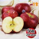 果之家 美國華盛頓榨汁富士蘋果56顆入20kg(單顆約357g)