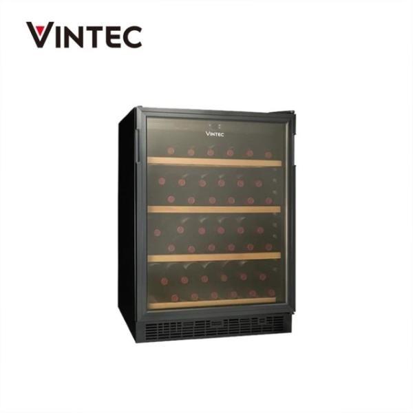 【南紡購物中心】Vintec 單門單溫酒櫃  VWS048SCA-X  獨立式陳列亦可崁入式設計