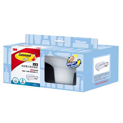 [奇奇文具] 【3M Command 無痕】3M 17653D 浴室收納系列-抽取衛生紙收納架