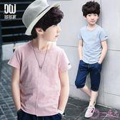 童裝男童短袖t恤2019夏裝新款韓版洋氣棉質T恤兒童帥氣體恤