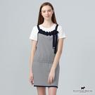 胸前綁帶造型X腰間鬆緊帶設計背心裙 【AE1489】