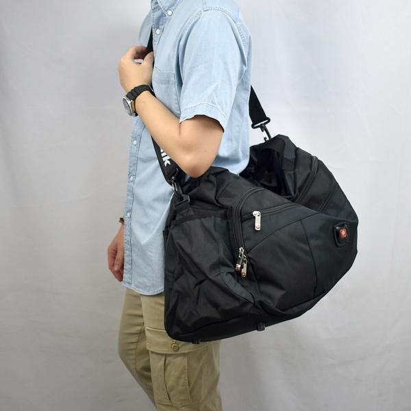 旅行袋 大容量拼接行李袋NZB41