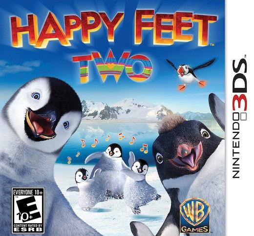 3DS Happy Feet Two: The Videogame 快樂腳 2(美版代購)