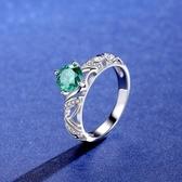 莫桑鑽戒指-1ct復古巴洛克鏤空925純銀女飾品2色73yk89{附GRA證書}【時尚巴黎】