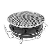 烤肉架 戶外烤爐登山野炊爐具烤肉爐木炭燒烤爐韓國烤肉鍋室外碳烤爐家用 WJ【米家】