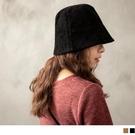 《ZC1996》純色質感燈芯絨坑條漁夫帽...