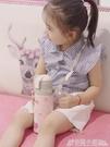 米菲兒童保溫杯帶吸管幼兒園水杯女童兩用水壺寶寶小學生男孩防摔 格蘭小舖