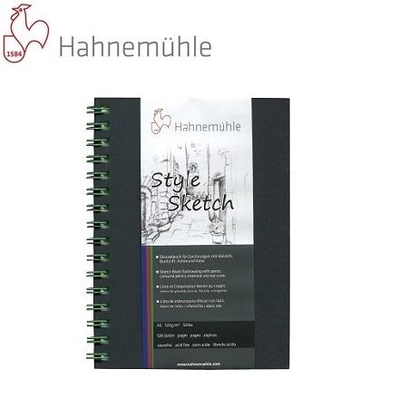 德國Hahnemuhle- Sketch 個性素描本106-284-42 (A4綠線圈/64張) / 本