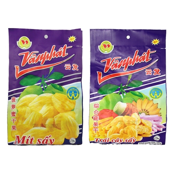 越南 VANPHAT 云發 菠蘿蜜乾/綜合水果乾(230g) 兩款可選【小三美日】