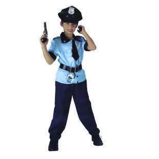 萬聖節 兒童警察服