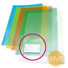 【奇奇文具】新德牌Sander 16-202 E310-N 310x220mm 附名片袋 透明文件套(1包12入)