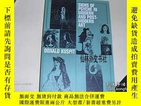 二手書博民逛書店【罕見】1993出版 Signs of Psyche in Modern and Postmodern Art