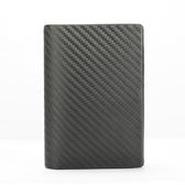 dunhill經典Chassis碳纖維皮革證件名片夾(黑色)257374