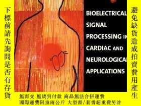 二手書博民逛書店Bioelectrical罕見Signal Processing In Cardiac And Neurologi