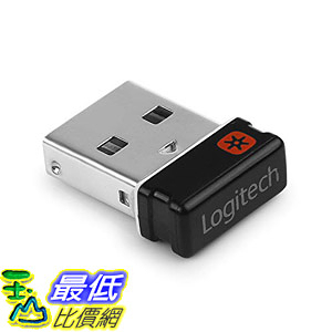 [8美國直購] 接收器 DDSKY USB Unifying Receiver for Mouse and Keyboard, Logitech Unifying Receiver for Up to 6 Devices