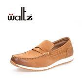 Waltz-復古休閒鞋622068-06(棕)