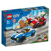 樂高 LEGO 60242警察高速公路追捕戰