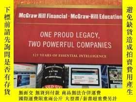 二手書博民逛書店ONE罕見PROUD LEGACY, TWO POWERFUL COMPANIES一個自豪的遺產,兩個強大的公司(