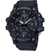 CASIO卡西歐G-SHOCK MUDMASTER極限大陸太陽能腕錶  GSG-100-1A