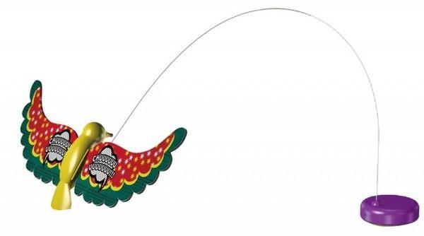 [寵樂子]《日本Petio 》電動貓玩具-抓抓電動玩具替換-小鳥/蝴蝶