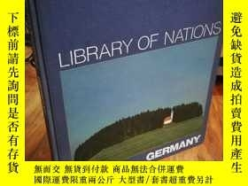 二手書博民逛書店LIBRARY罕見OF NATIONS GERMANY【布面精裝
