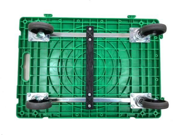 【精捷順】高CP值塑鋼平板車/忍者龜車(300kg)