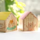 復古木質房子音樂盒女生創意禮品生日聖誕禮物diy八音盒閨蜜禮品 【快速出貨】
