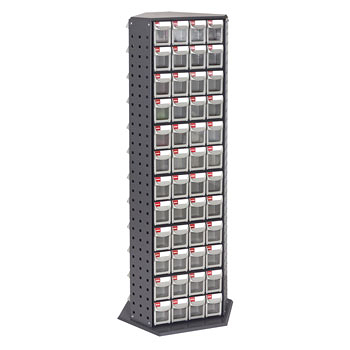 [ 家事達 ] 樹德RFO-8144  零件快取盒旋轉架- 144格抽屜   特價  收納箱/整理箱