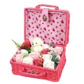 普柏雅七夕情人節創意禮品香皂玫瑰花禮盒送女生閨蜜友情生日禮物ATF 三角衣櫃