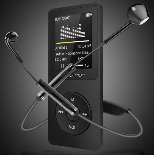 mp3 mp4播放器隨身聽8G 學生款小巧迷你可愛超薄音樂帶外放英語聽力錄音筆