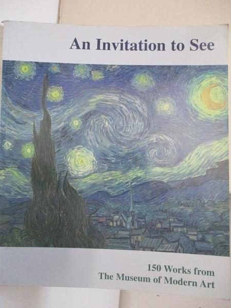 【書寶二手書T8/藝術_JND】An Invitation to See-150 Works From…