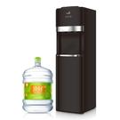頂好 美國OASIS品牌 下置型飲水機 桶裝水專用 (時尚勁黑款) + 贈麥飯石涵氧桶裝水20L X 15瓶