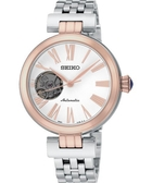 【時間光廊】SEIKO 精工錶 日製 女錶 開芯面盤 鋼帶 機械錶 全新原廠公司貨 SSA862J1