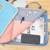 ✭慢思行✭~P575 ~A4 文件收納手提包手拎手提袋簡約多用途休閒筆電書包資料夾保護