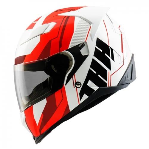 【東門城】THH T840S Remi (白/紅黑) 全罩式安全帽 雙鏡片