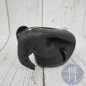BRAND楓月 LOEWE 黑色 大象 零錢包