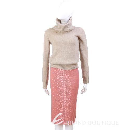 G.I.O.I 亮鑽飾毛料及膝裙(粉橘色) 0510733-39