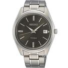SEIKO精工 CS 經典簡約鈦金屬腕錶 6N52-00B0D