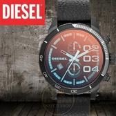 DIESEL國際品牌Double down 潮流個性計時腕錶/51mm DZ4311公司貨/禮物/聖誕節生日/情人節