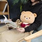 【專區滿618享8折】森林好朋友-憨憨熊玩偶-生活工場