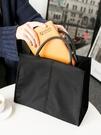 旅行收納袋 正韓肩背斜背文件袋氣質時尚商務手拎手提公文包女通勤包學生書袋小c推薦