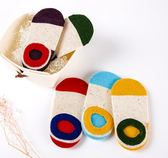 男童女童兒童棉質船襪防滑淺口隱形寶寶襪子1-2-4-6歲8春秋夏薄款 萬聖節