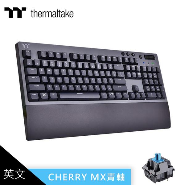 【TT thermaltake 曜越】W1 三模無線 青軸機械式鍵盤