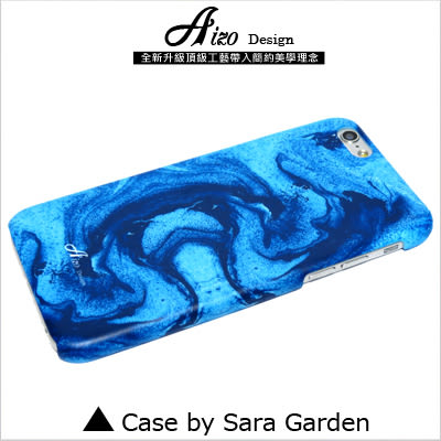 3D 客製 水彩 海洋 波紋 iPhone 6 6S Plus 5S SE S6 S7 10 M9 M9+ A9 626 zenfone3 C5 Z5 Z5P M5 X XA G5 G4 J7 手機殼