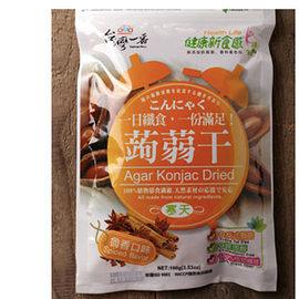 台灣一番 蒟蒻干 魯香口味 (100g)一包  寒天